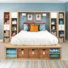 Smart bedroom storage ideas (8)