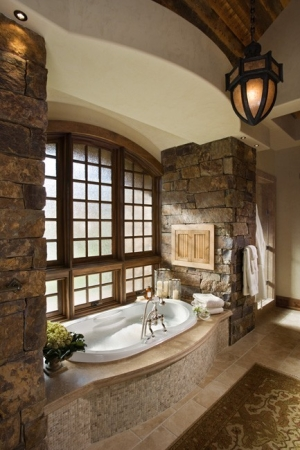 Wonderful stone bathroom designs (15)