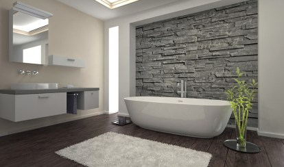 Wonderful stone bathroom designs (17)