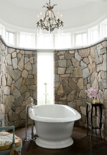 Wonderful stone bathroom designs (18)