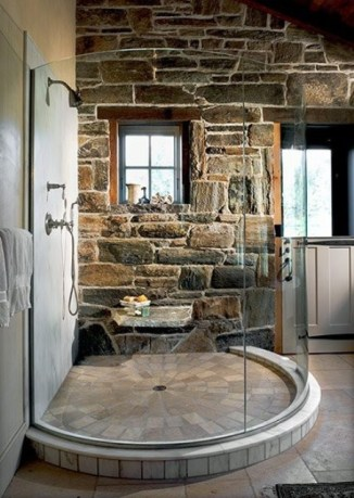 Wonderful stone bathroom designs (26)