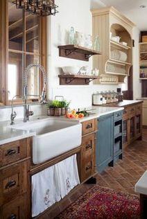 Modern farmhouse kitchen design ideas 04