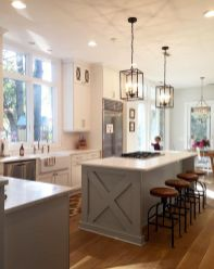 Modern farmhouse kitchen design ideas 18