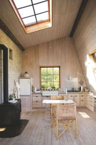 Modern farmhouse kitchen design ideas 21