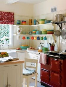 Modern farmhouse kitchen design ideas 23