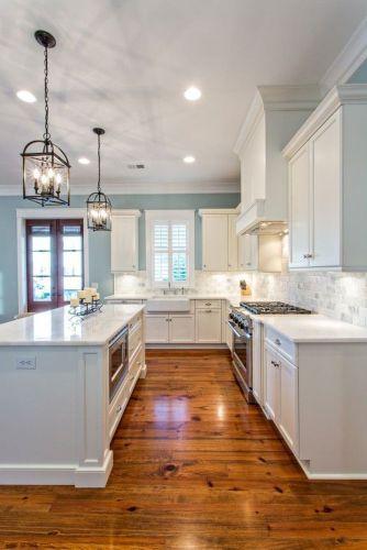 Modern farmhouse kitchen design ideas 30