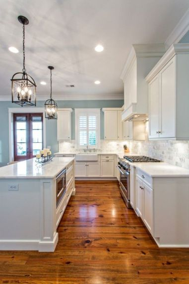 Modern farmhouse kitchen design ideas 30