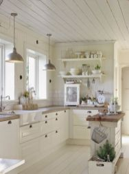 Modern farmhouse kitchen design ideas 33