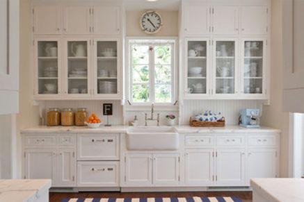 Modern farmhouse kitchen design ideas 51