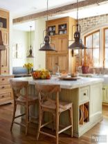 Modern farmhouse kitchen design ideas 54