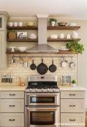 Modern farmhouse kitchen design ideas 55