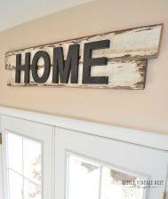 Simple diy rustic home decor ideas 31