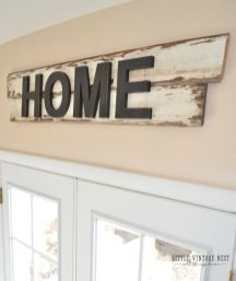 Simple diy rustic home decor ideas 31