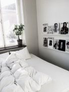 Stylish stylish black and white bedroom ideas (23)