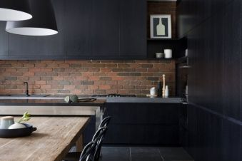 Amazing black and red kitchen decor 45