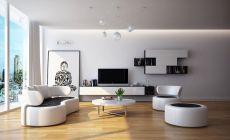 Amazing black and white furniture ideas 10