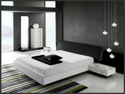 Amazing black and white furniture ideas 12