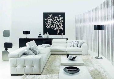 Amazing black and white furniture ideas 15