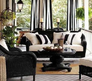 Amazing black and white furniture ideas 24
