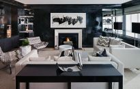 Amazing black and white furniture ideas 28