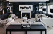 Amazing black and white furniture ideas 28
