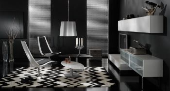 Amazing black and white furniture ideas 51