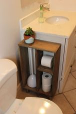 Amazing guest bathroom decorating ideas 04