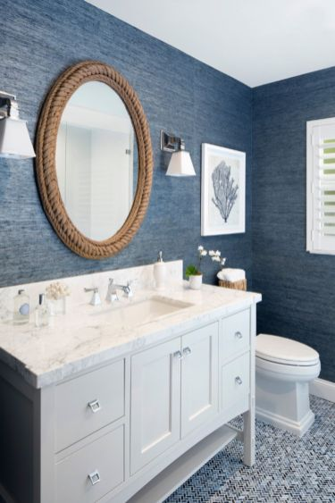 Amazing guest bathroom decorating ideas 23