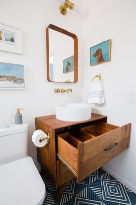 Amazing guest bathroom decorating ideas 30