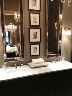 Amazing guest bathroom decorating ideas 32