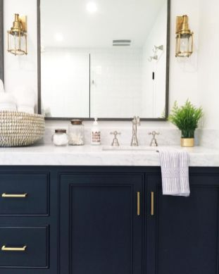 Amazing guest bathroom decorating ideas 39