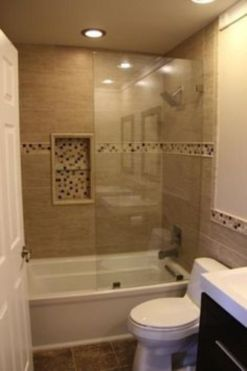 Amazing guest bathroom decorating ideas 43