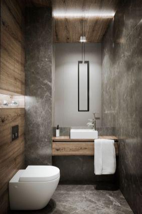 Amazing guest bathroom decorating ideas 45