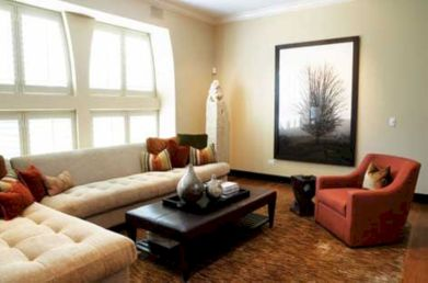 Amazing small living room decor ideas with sectional 25