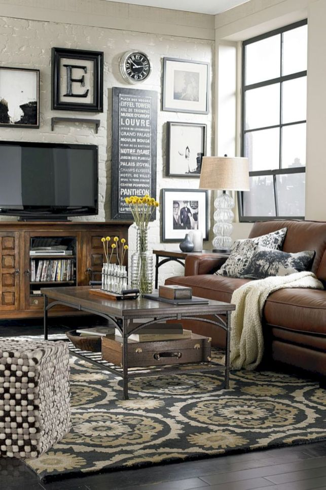 Amazing small living room decor ideas with sectional 34
