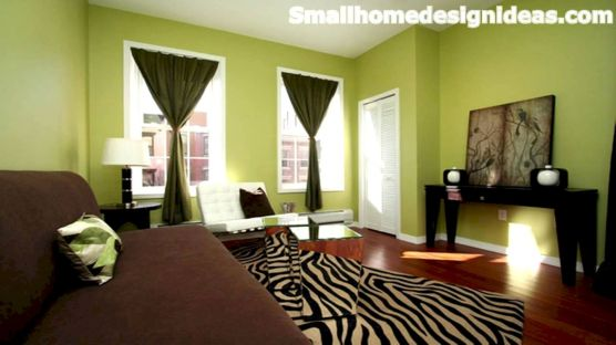 Amazing small living room decor ideas with sectional 44