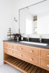 Bathroom vanity ideas with makeup station 36
