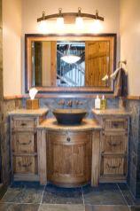 Bathroom vanity ideas with makeup station 37