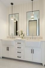 Bathroom vanity ideas with makeup station 54