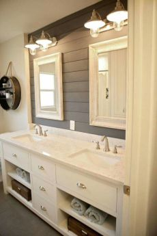 Bathroom vanity ideas with makeup station 58