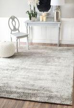 Beautiful bedroom design ideas using grey carpet 007
