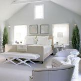 Beautiful bedroom design ideas using grey carpet 019