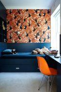 Beautiful bedroom design ideas using grey carpet 030