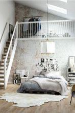 Beautiful bedroom design ideas using grey carpet 034