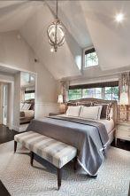 Beautiful bedroom design ideas using grey carpet 036