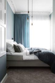 Beautiful bedroom design ideas using grey carpet 038