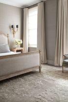 Beautiful bedroom design ideas using grey carpet 055