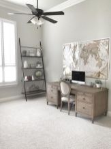 Beautiful bedroom design ideas using grey carpet 063