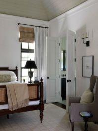 Beautiful bedroom design ideas using grey carpet 078
