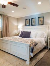 Beautiful bedroom design ideas using grey carpet 089
